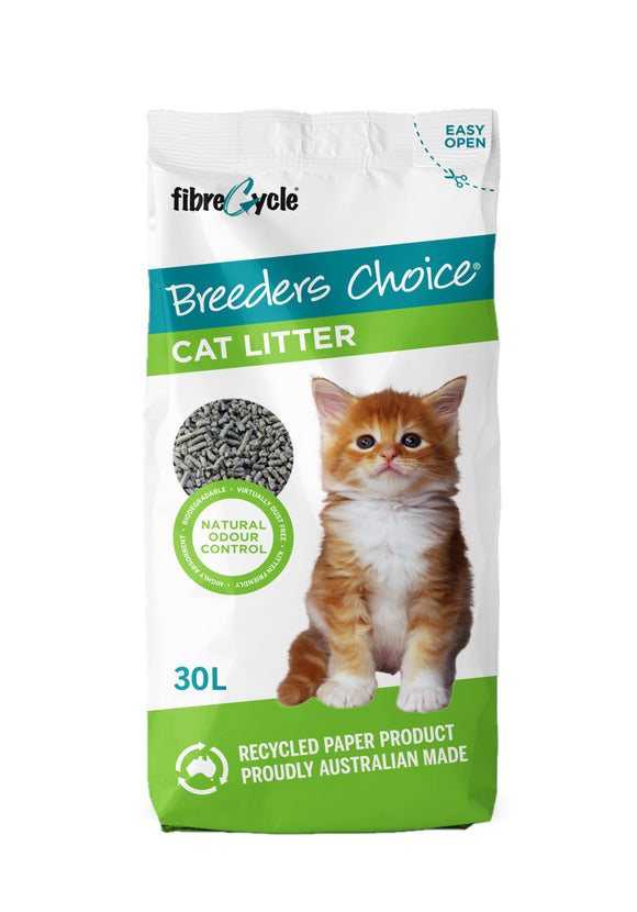 Breeders Choice 30L Cat Litter