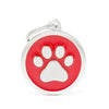 My Family Classic Paw Red Large