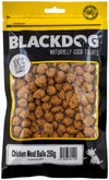 Black Dog Chicken Meatballs 200g - RSPCA VIC