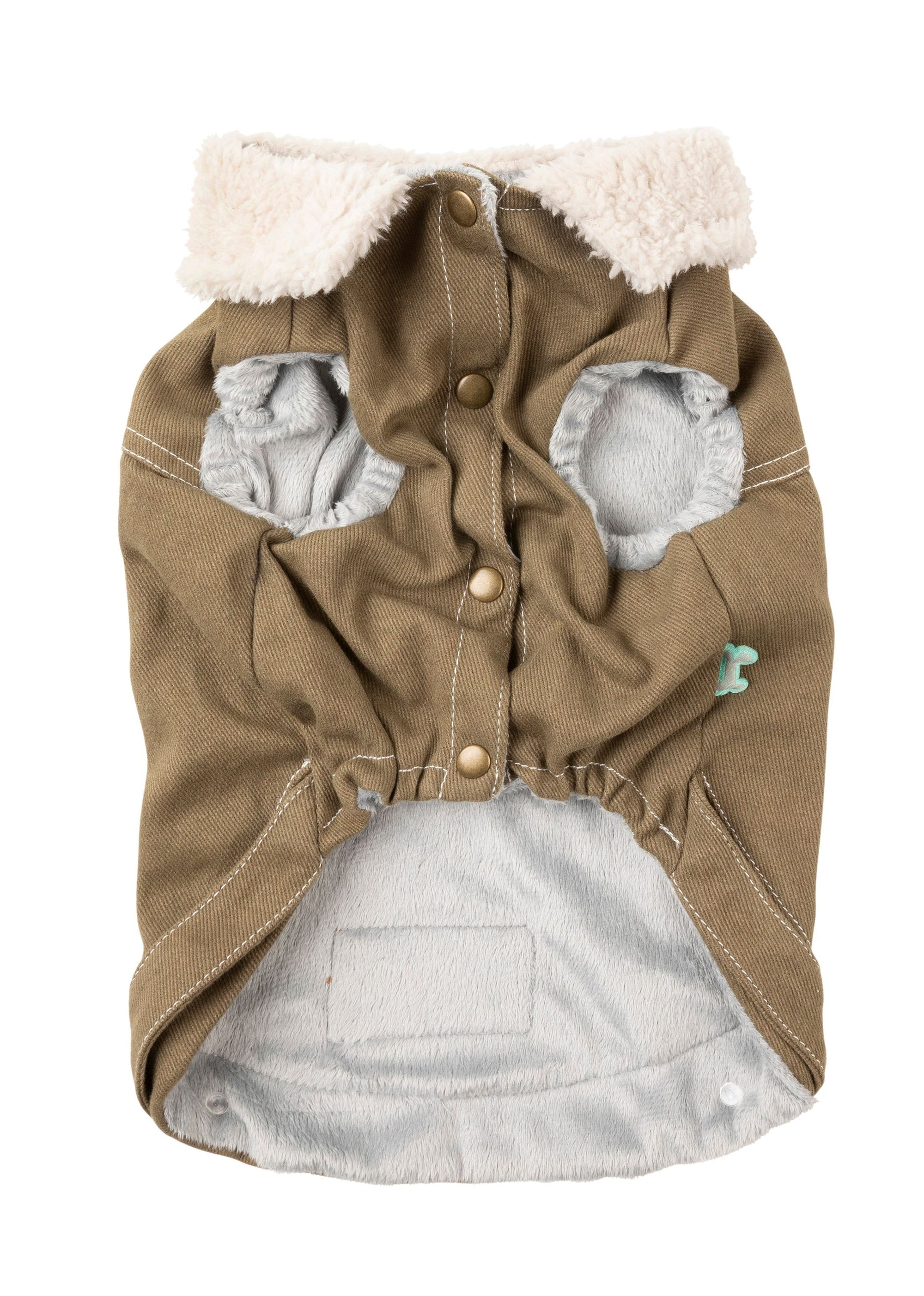 Fuzzyard Rebel Jacket Olive - RSPCA VIC