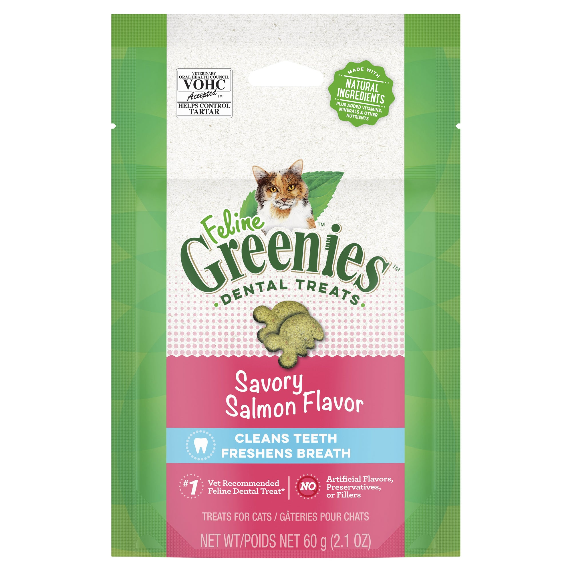Greenies Feline Savoury Salmon 60g