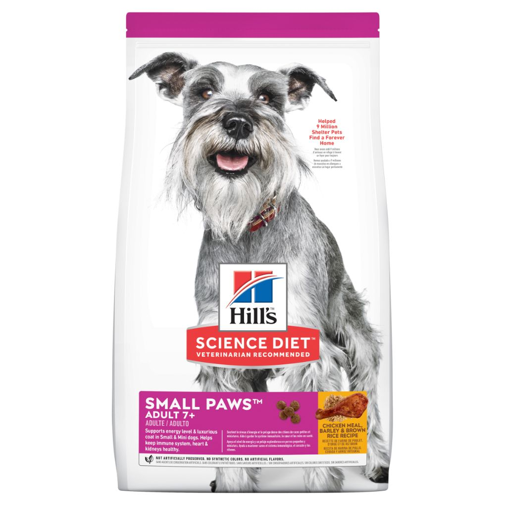Hill's Science Diet Canine Adult Mature 7+ Small Paws 1.5kg