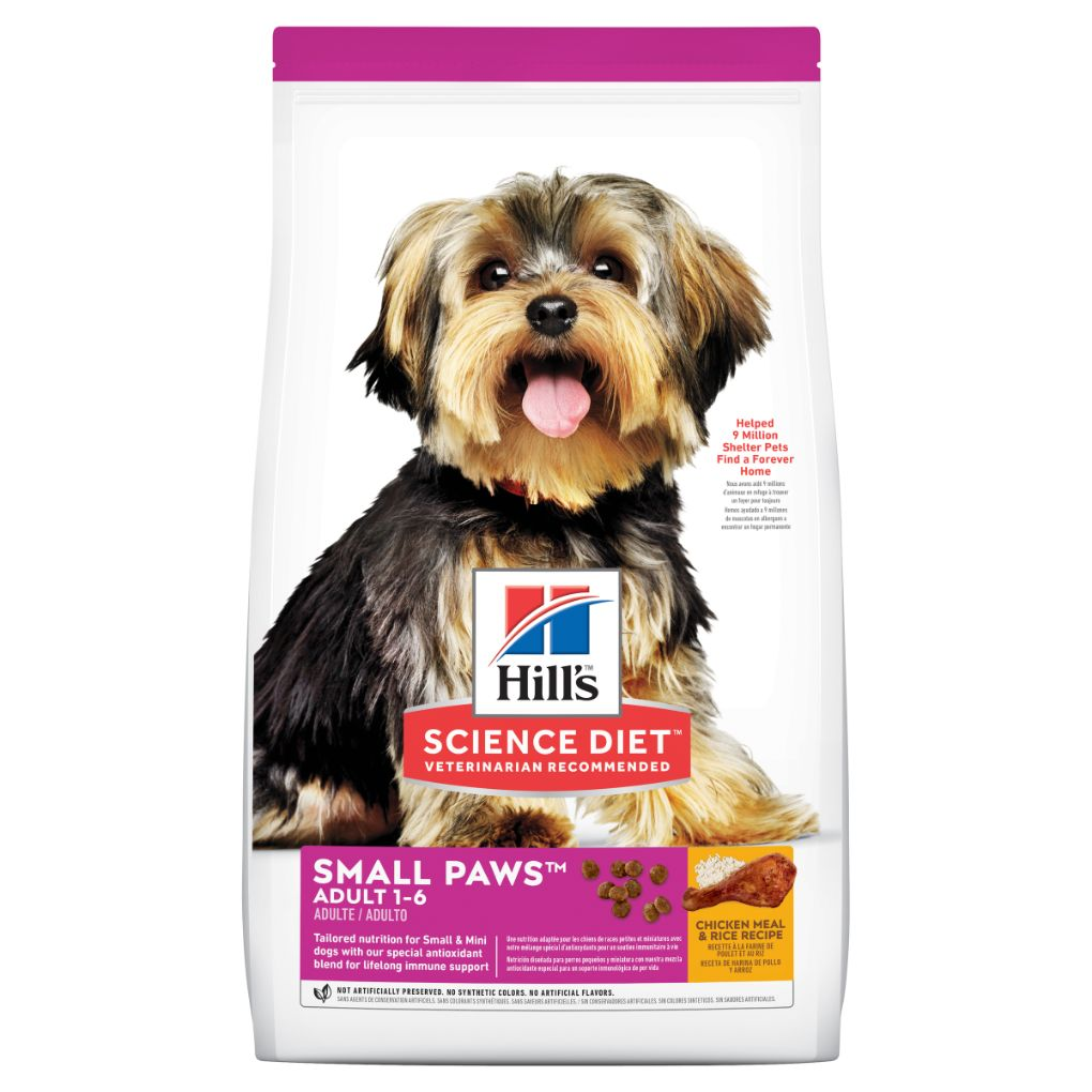 Hill's Science Diet Canine Adult Small Paws 1.5kg