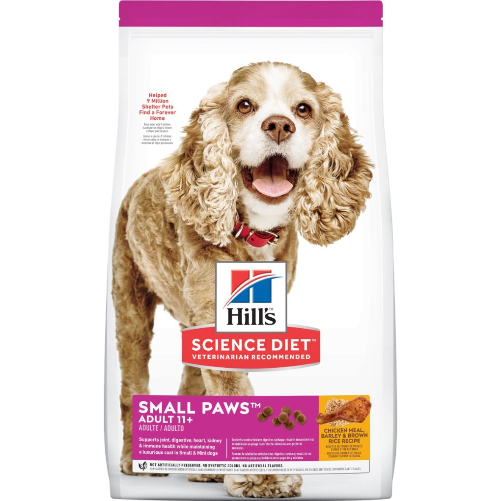 Hill's Science Diet Canine Adult 11+ Small Paws 2.04kg