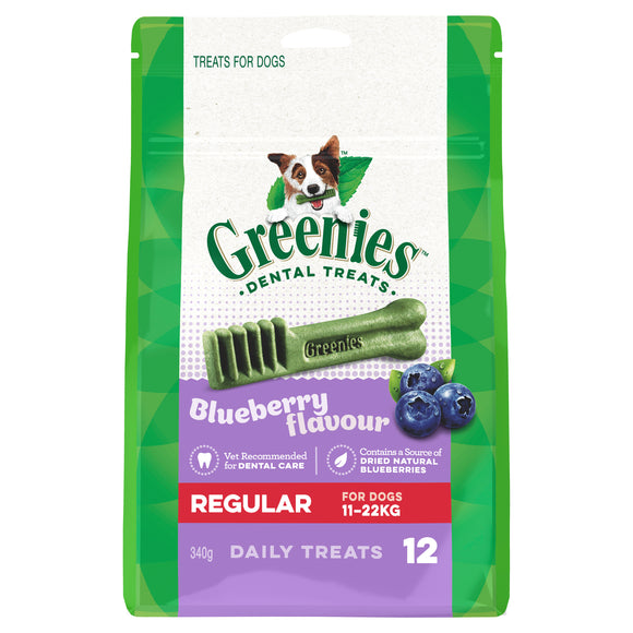 Greenies Blueberry Regular 340g - RSPCA VIC