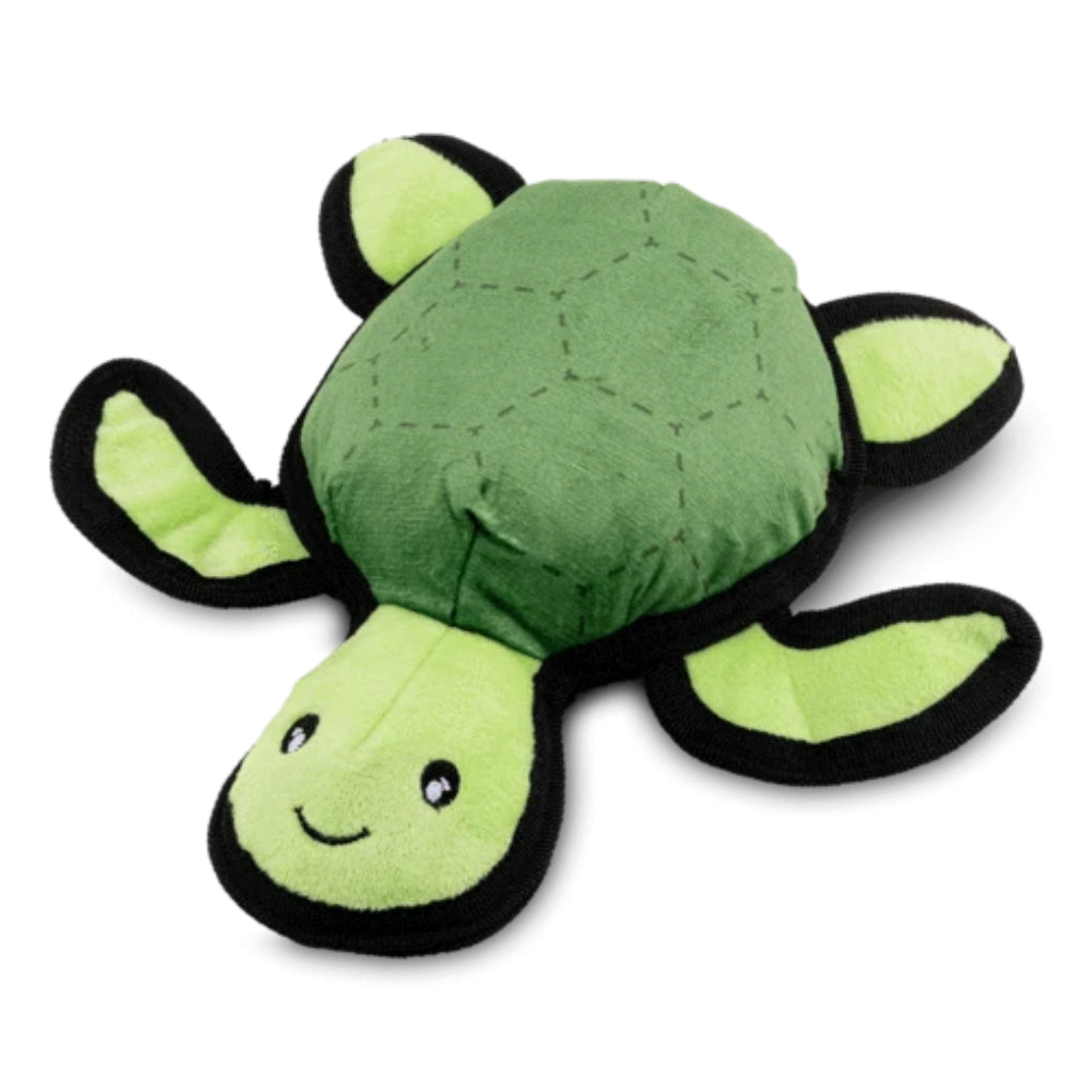 Beco Pets Recycled Plastic Rough and Tough Turtle Eco Dog Toy