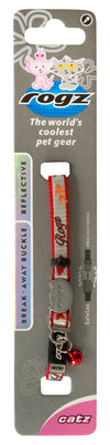 Rogz Safeloc Reflectocat Collar Red Fish - RSPCA VIC