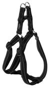 Rogz Step-In Harness Lumberjack Black - RSPCA VIC