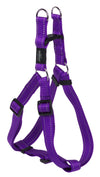 Rogz Step-In Harness Lumberjack Purple - RSPCA VIC