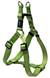 Rogz Step-In Harness Lumberjack Lime - RSPCA VIC