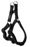 Rogz Step-In Harness Fanbelt Black - RSPCA VIC