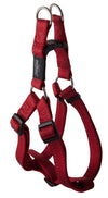 Rogz Step-In Harness Fanbelt Red - RSPCA VIC