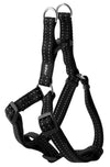 Rogz Step-In Harness Snake Black - RSPCA VIC