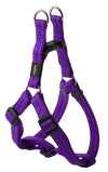 Rogz Step-In Harness Snake Purple - RSPCA VIC