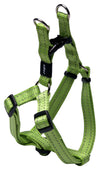Rogz Step-In Harness Snake Lime - RSPCA VIC