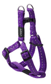 Rogz Step-In Harness Nitelife Purple - RSPCA VIC