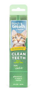 Tropiclean Clean Teeth Oral Gel Cat - RSPCA VIC
