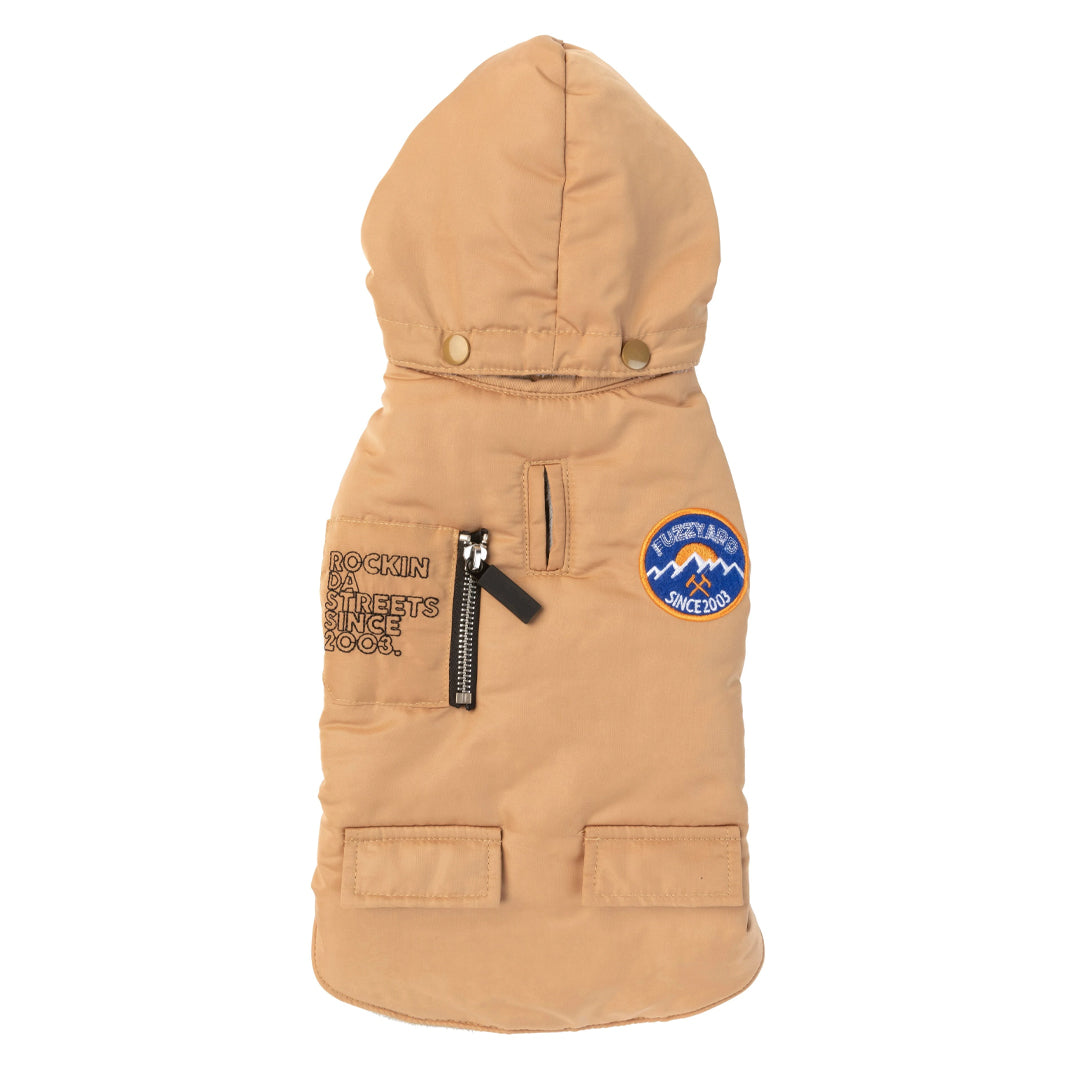 Fuzzyard Nomad Jacket w/Removable Hood Camel