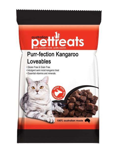 Purrfection Kangaroo Loveables 80g - RSPCA VIC