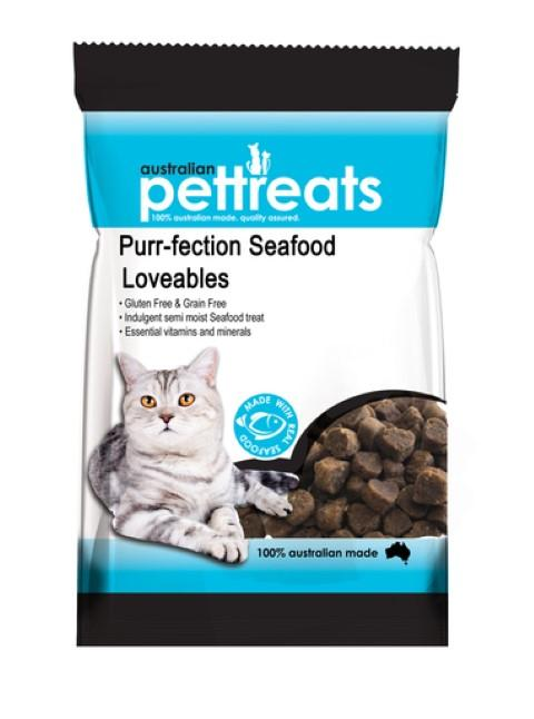 Purrfection Seafood Loveables 80g - RSPCA VIC