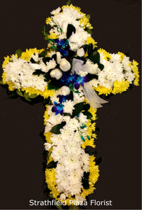 Cross Wreath - Suitable for Service