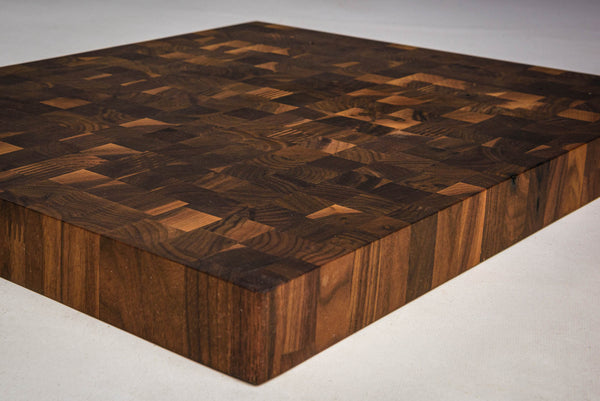 Walnut Finger-Joint End Grain Cutting Boards