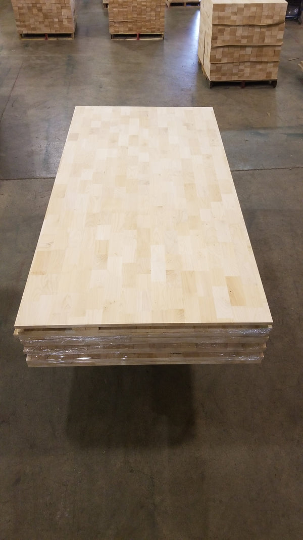 4'x8' Finger-Jointed Maple