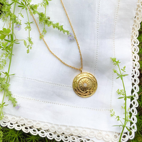 Resilience Amulet - Gold - Gather Brooklyn