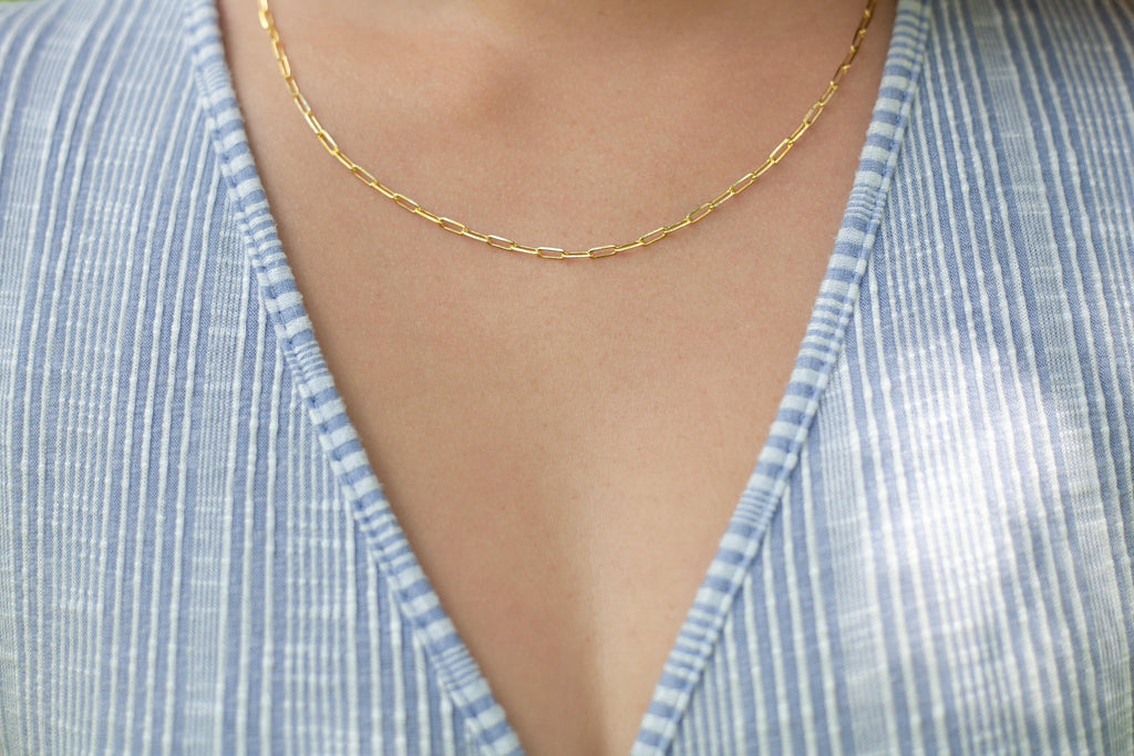 Themis Link Chain - Gold - Gather Brooklyn