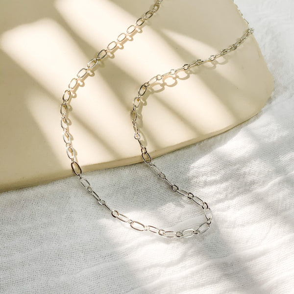 Aster Chain - Silver - Gather Brooklyn