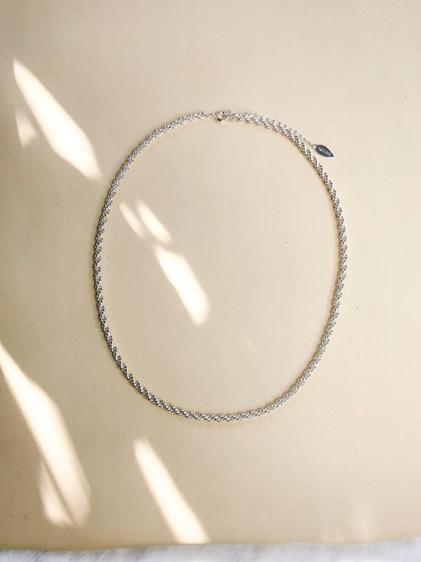 Minerva Chain - Silver - Gather Brooklyn