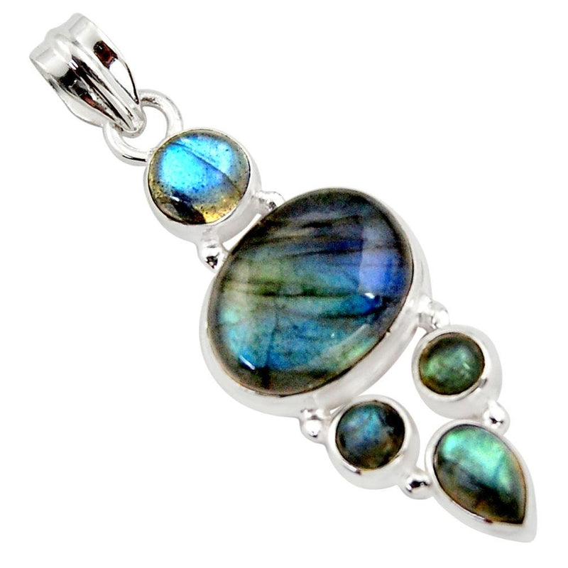 Anoush Labradorite Necklace - Revital Exotic Jewelry & Apparel