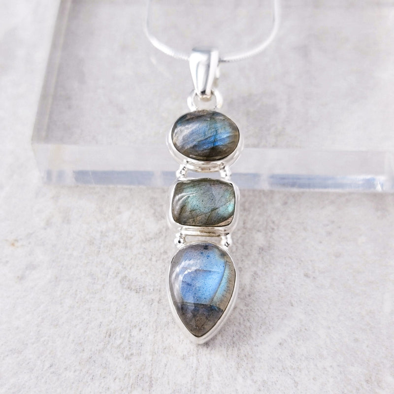 Ayiana Labradorite Necklace II - Revital Exotic Jewelry & Apparel