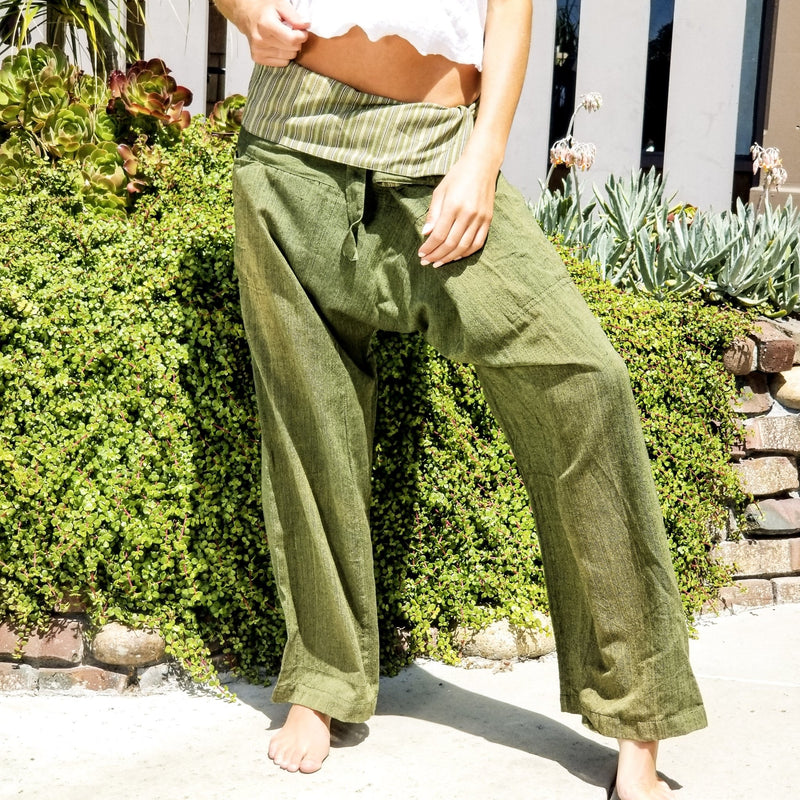 Bliss Thai Wraparound Pants - Revital Exotic Jewelry & Apparel