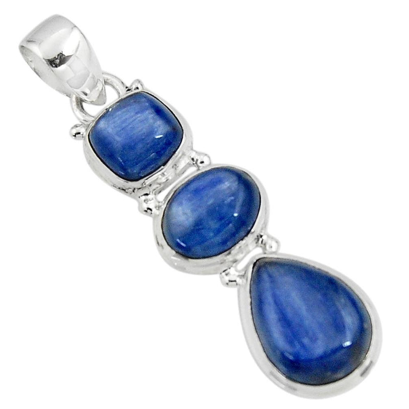 Caledonia Kyanite Necklace - Revital Exotic Jewelry & Apparel