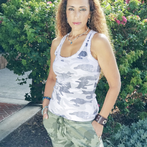 Camo Tank - Revital Exotic Jewelry & Apparel
