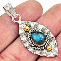 Elina Labradorite Necklace - Revital Exotic Jewelry & Apparel