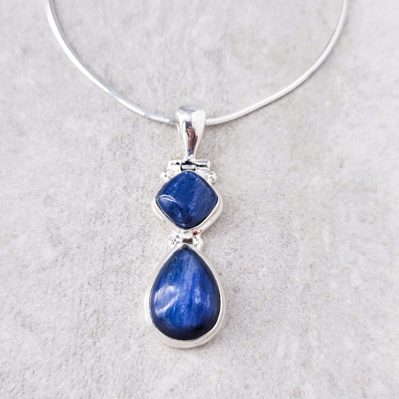 Evelyn Kyanite Necklace II - Revital Exotic Jewelry & Apparel