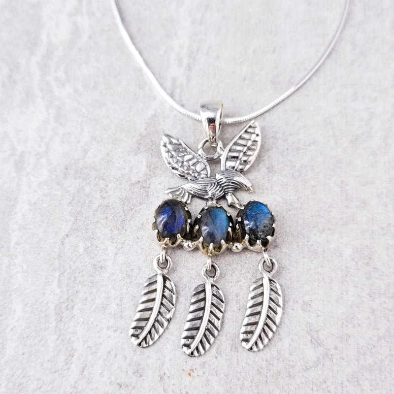 Free Spirit Labradorite Necklace - Revital Exotic Jewelry & Apparel