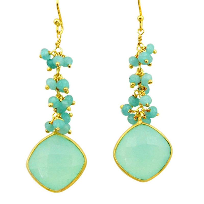 Jessamine Chalcy Dangle Earrings - Revital Exotic Jewelry & Apparel