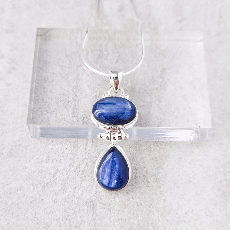 Kaimi Kyanite Necklace - Revital Exotic Jewelry & Apparel