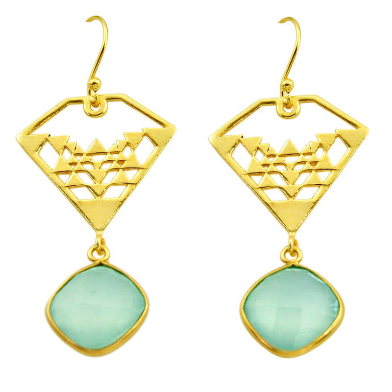 Lene Chalcy Earrings - Revital Exotic Jewelry & Apparel