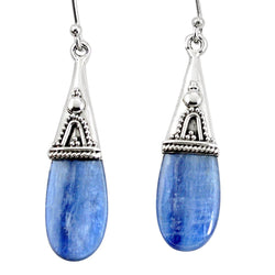 Oriel Kyanite Earrings - Revital Exotic Jewelry & Apparel