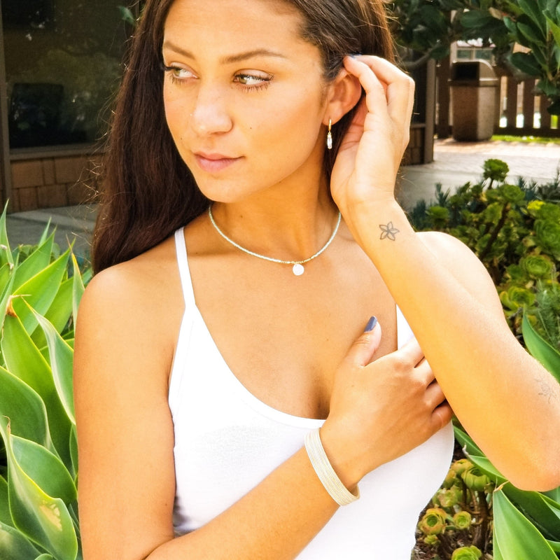 Petite Mother of Pearl - Revital Exotic Jewelry & Apparel