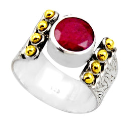 Ruby Empress Two Tone - Revital Exotic Jewelry & Apparel