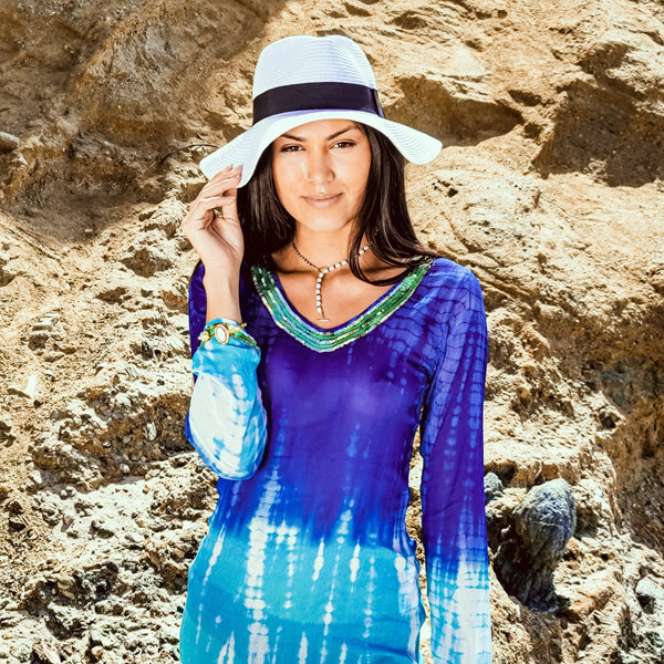 Summer Escape Tie Dye Cover Up - Revital Exotic Jewelry & Apparel