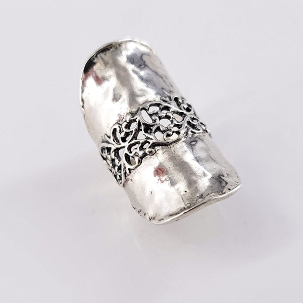 Uma Silver Ring - Revital Exotic Jewelry & Apparel