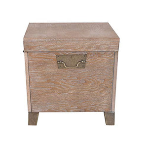 Southern Enterprises Pyramid Trunk Cocktail Table, brown