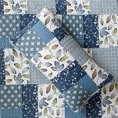 SLPR Pacific Coast 3-Piece Lightweight Printed Quilt Set