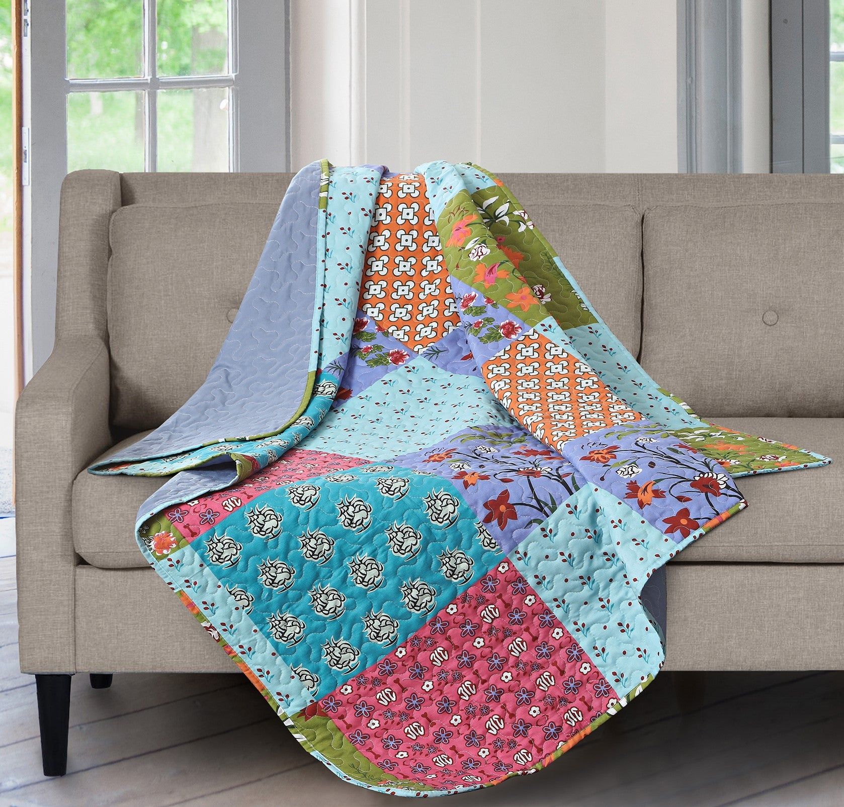 Printed Throw Blanket